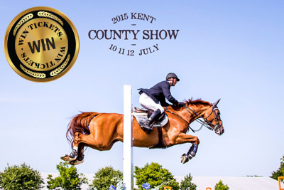 Win Tickets to the Kent County Show 2015