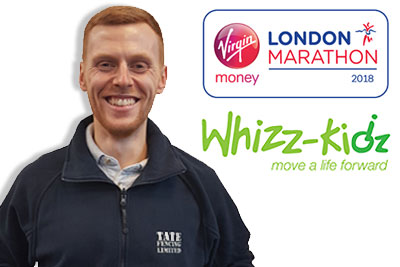 Matt Harden running the London Marathon