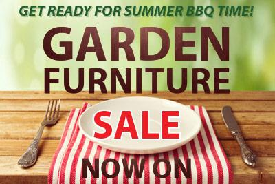 garden furniture sale now on!