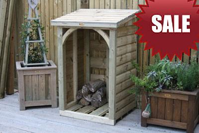 Log store sale