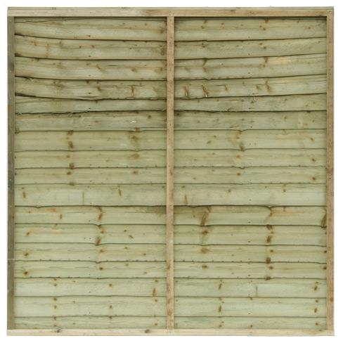 waney edge panel