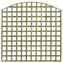 TATE Bow Top Square Hole Trellis