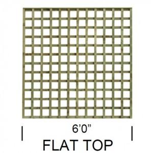 TATE Heavy Square Flat top trellis panel
