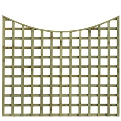 TATE Scalloped Top Square Hole Trellis