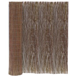 Willow Matting Roll, unrolled