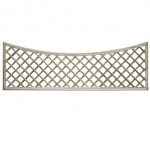 English Rose Scallop Top Bay Trellis