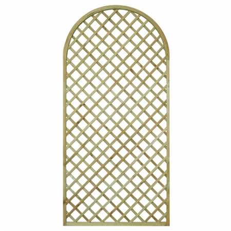 English Rose Round Top Shaped Trellis