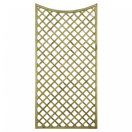 English Rose Scalloped Shaped Trellis