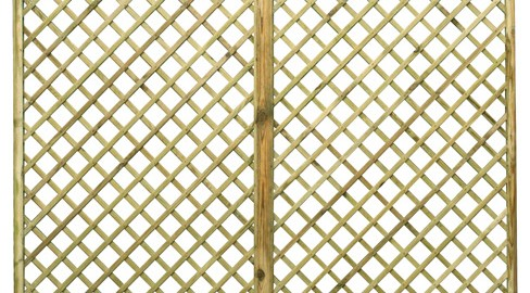 English Rose Flat Top Trellis