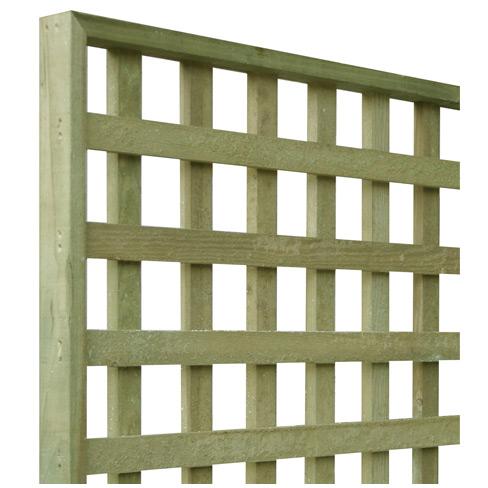 tate heavy square trellis panel garden panel tate fencing