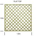 Regal Flat top diamond trellis panel specification