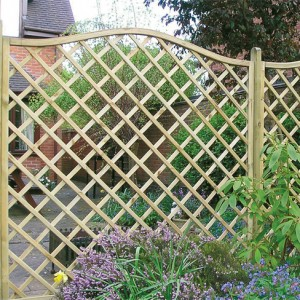 Regal Diamond Omega top trellis panel installed