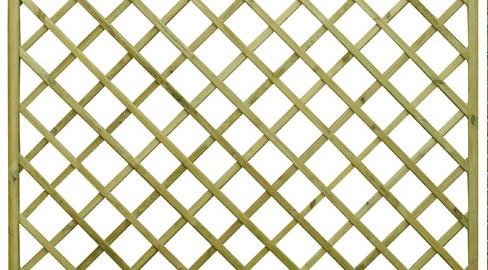 Regal Flat top diamond trellis panel