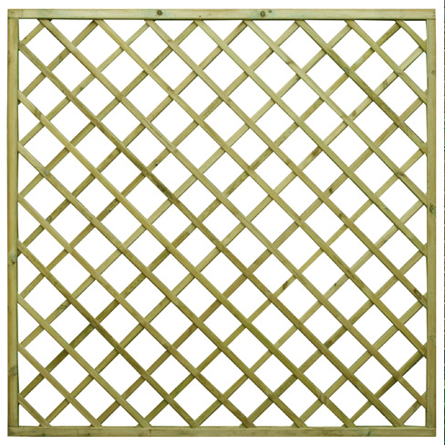 regal flat top diamond trellis garden panel tate fencing