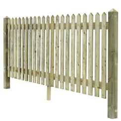 Prepared Pointed top Palisade Fencing