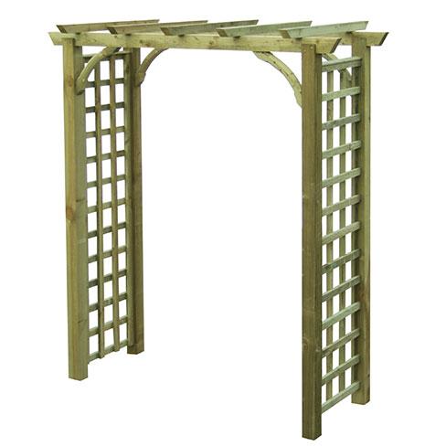 Hever Garden Arch Garden Arches TATE Fencing