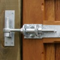 Close up detail showing the 2 way adjustment on the hinges