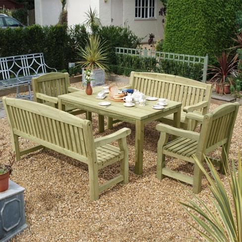 medium garden bench seat tate fencing garden furniture
