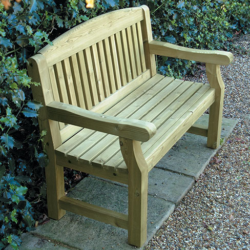 Delightful Small Garden Bench Seat