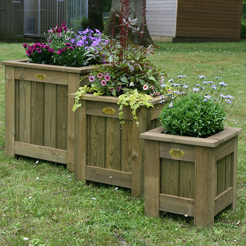 Wisley Garden Planters > Garden Products | TATE Fencing