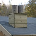 TATE Wendy House - decorative chimney fixed to roof