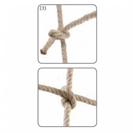 Climbing Net - knot detail