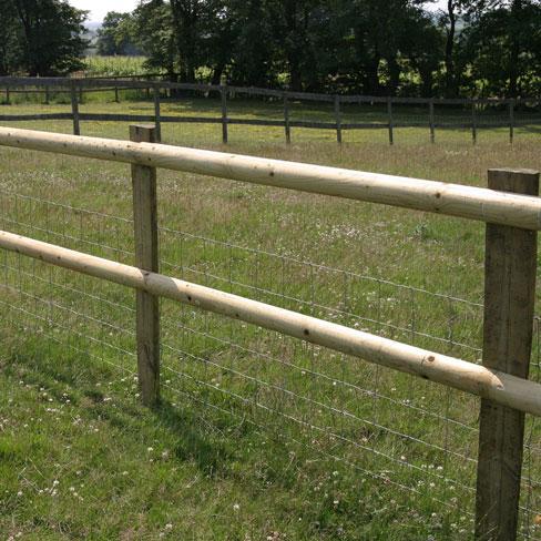 fence post. Half Fence Post