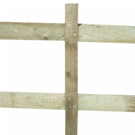 Scarfed and Mortised Post and Rail