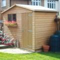 Gable shiplap shed