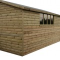 Gable Shiplap Shed example