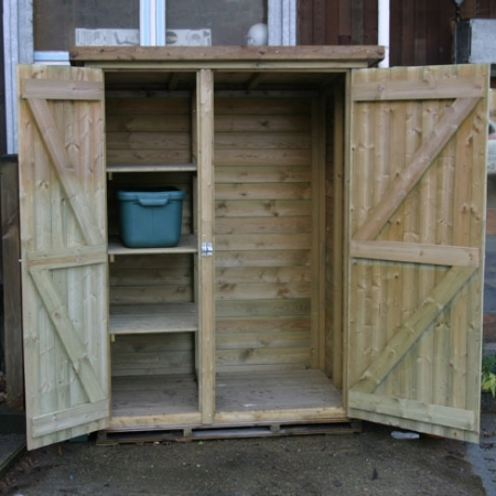 The bin store storage solution.