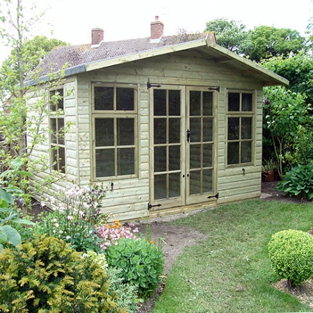 TATE Chalet Summerhouse located in secluded area of a garden