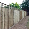 Closeboard Kit form with 300mm trellis installed detail