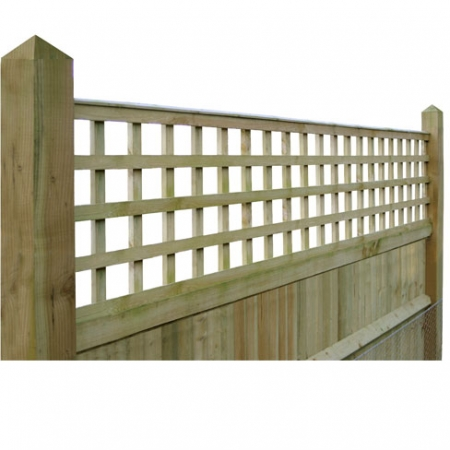 Closeboard Kit form with 600mm trellis detail