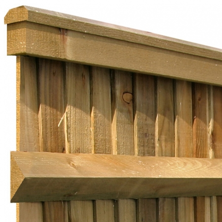 Closeboard with Counter Rail and Capping Kit Form detail