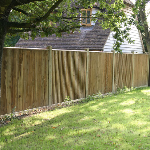 Closeboard Fencing With Capping Gt Closeboard Tate Fencing