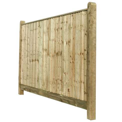 Closeboard fencing with capping closeboard tate fencing for Cheap decking boards uk