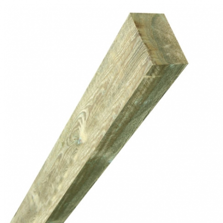 Sawn timber fence post 75x125mm