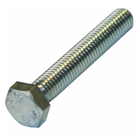 Hex head set screw available in various sizes.