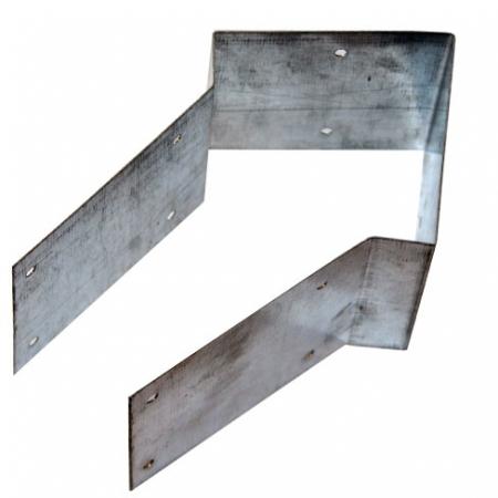 "5 bend Knee Rail Strap - 4"" on 4"""