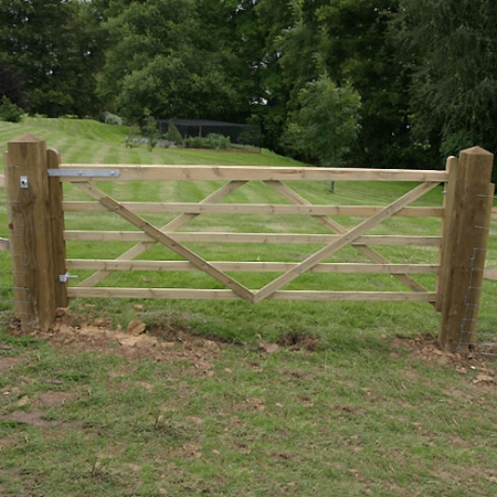 TATE Fencing Universal Utility field gate