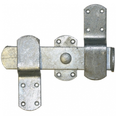 Galvanised Kick Over Latch