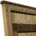 Standard frame Closeboard Gate, with counter rail and capping finish