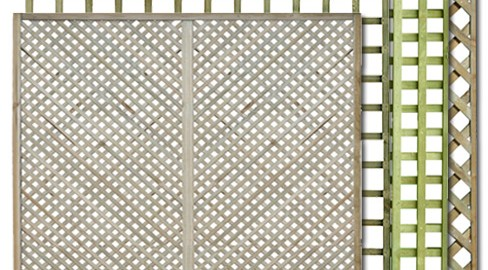 Trellis Panels from TATE Fencing