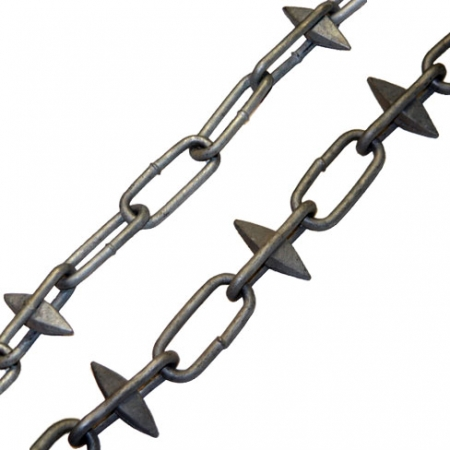 Spiked Chain - with alternate spikes or spikes every 4 links