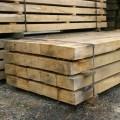Pack of oak sleepers