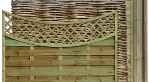 A variety of Panels from TATE Fencing
