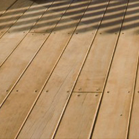 Softwood radiata pine decking boards decking board for Smooth hardwood decking boards