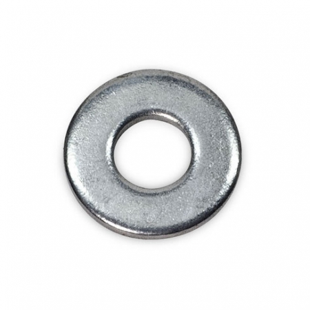 Round washer to spread the pressure or act as a spacer or seal
