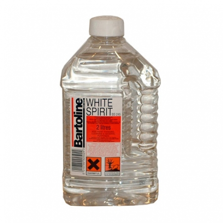 White Spirit, available in 2L tubs
